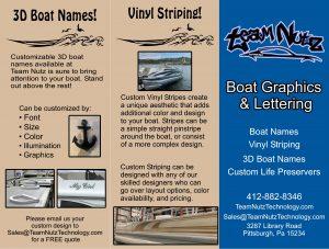 Boat Name Brochure