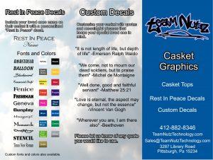Casket Vinyl Wrap