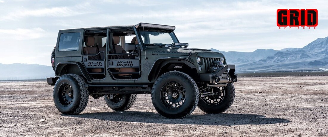 Get off the Grid with GRID Off-Road Wheels