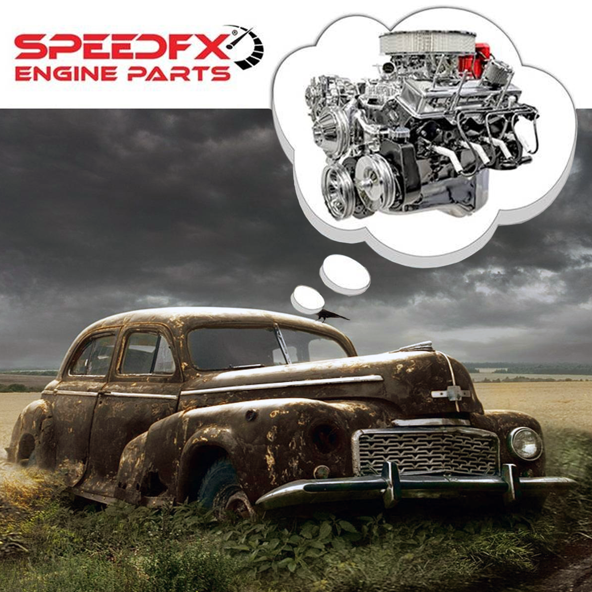 SpeedFX has the quality chrome engine dress up parts and accessories your engine needs and you deserve to show off. Whether you are at a car show or in your driveway, make popping the hood of your prized possession a proud moment. SpeedFX also has you covered with their line of air filters, mufflers, brake rotors and various hand tools. When it's time to restore your vehicle to its glory days, choose SpeedFX for the engine dress-up and performance parts and accessories that you can trust. Stop in and see us today to learn more about SpeedFX and take your vehicle to a whole new level.